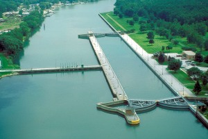 O'Brien Lock and Dam | Photo: US Corps